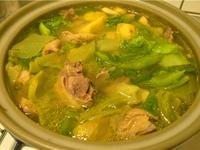 超有年味的芥菜雞湯 (刈菜雞湯)