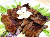 香煎豬肉(鐵鍋烤肉)