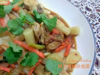 韓式年糕炒泡菜