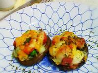 小烤箱料理 - 焗烤蔬食香菇(素)