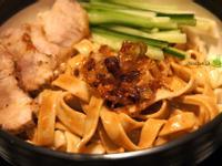蜂蜜麻醬乾麵
