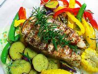原味料理- 迷迭香鮮蔬鮭魚