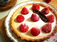 草莓豆漿卡士達水果塔「鷹牌煉奶」