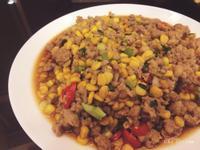 新手人妻必備-黃金玉米炒絞肉(簡單料理)