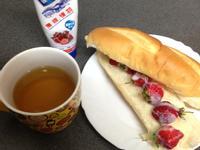 午後的法式甜心-草莓軟法佐 『鷹牌煉奶』