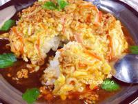 天津飯(日式滑蛋燴飯)