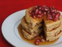 紅石榴全麥美式鬆餅 厚實蓬鬆 無糖無油