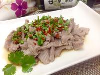 泰式涼拌梅花豬肉片(淬釀開運年菜)