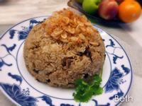 櫻花蝦油飯 - 年菜 - 電鍋料理