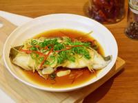 清蒸鱈魚【電鍋食譜】