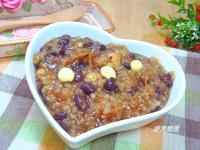紅豆桂圓蓮子米糕粥
