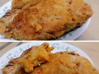 南瓜起司火腿鮮蝦可樂餅 (大寶寶副食品)