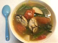 韓式鮮甜大醬番茄蠔湯