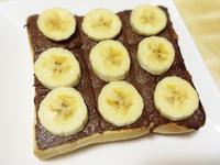 香蕉巧克力厚片吐司