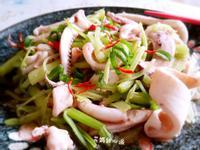 芹菜炒魷魚(快速上菜)