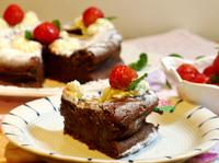 酒漬草莓巧克力蛋糕【烘焙食譜募集】