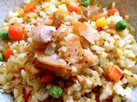 (鮭魚兩吃)鮭魚炒飯 @188懶人料理