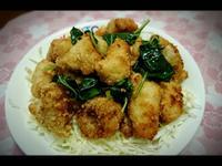 豆腐乳鹹酥雞
