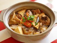 [一鍋到底料理]砂鍋油豆腐雞