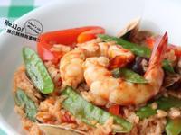 海味滿滿滿的義式海鮮燉飯