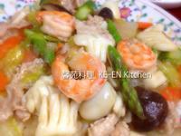 海鮮燴飯(中華丼)