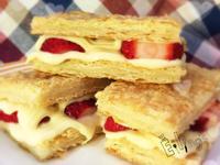 懶人版草莓千層派【烘焙展食譜募集】