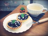 """超簡單""""藍莓塔""""~~愛上藍莓酸甜滋味!!"""