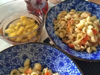 簡單輕食-雞肉貝殼麵