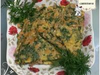 【中式料理】紅蘿蔔葉菜脯煎蛋