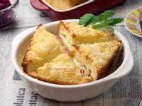 焗烤棉花法式土司三明治
