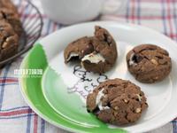 星巴客的巧克力棉花糖脆餅