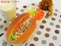 【樂客來】早午餐之~煙燻雞肉潛艇堡