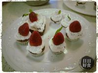 草莓布朗尼蛋糕