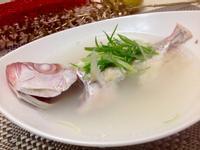 塩麴紅目鰱魚湯