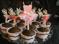 巧克力可可口味杯子蛋糕 ❤!!!