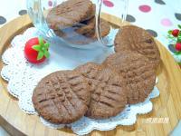 椰子巧克力酥餅