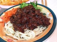 辣味韓式黑醬麵(炸醬麵)