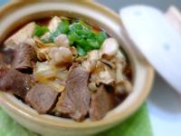 牛肉舞菇豆腐燒[深夜食堂x鮮食家]
