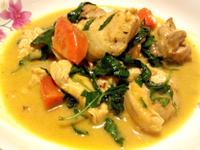 簡易泰式綠咖哩雞