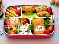 野餐-日式可愛便當【HOLA幸福食堂】