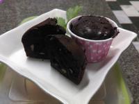 巧克力布朗尼杯子蛋糕