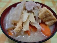 Paineの豚汁(豬肉味噌湯)
