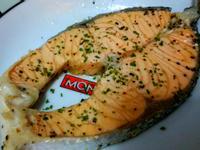 香煎三文魚扒(鮭魚扒)