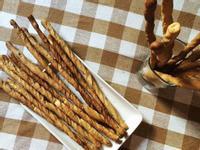 簡易羅勒乳酪鹹香餅乾棒