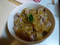 懶人餐~豬肉壽喜燒蓋飯