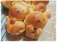 抱堅果熊熊&捲尾貓小吐司(冷藏低溫後鹽)