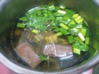 簡易豬血湯