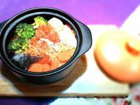 日式。味噌雞絲麵