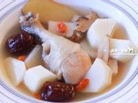 山藥養生雞湯