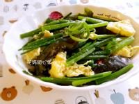 雙蛋拌炒韭菜花